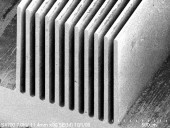 SEM, Micro Machined Channels