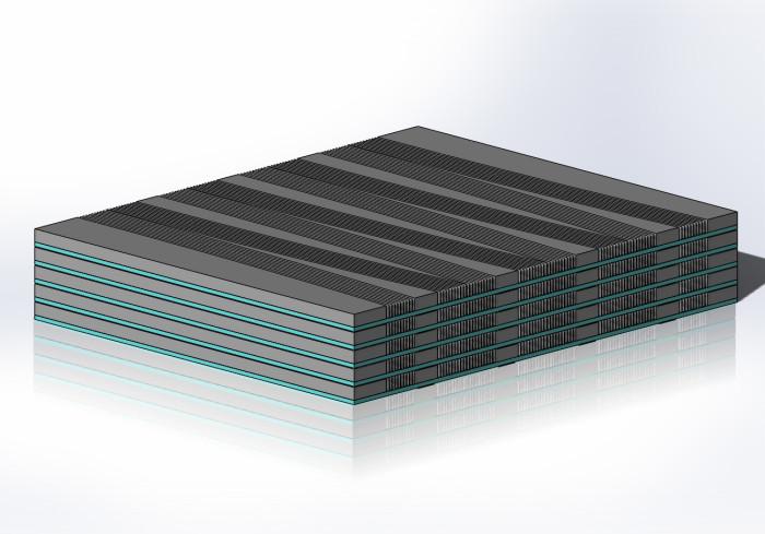 MEMs Chip Stack CAD