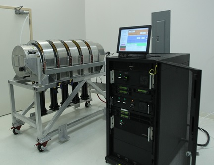 The MTAS is composed of the Magnetic Thermal Annealing Unit along with its computer driven System controller