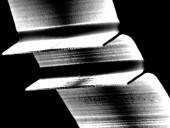 17 micron fins