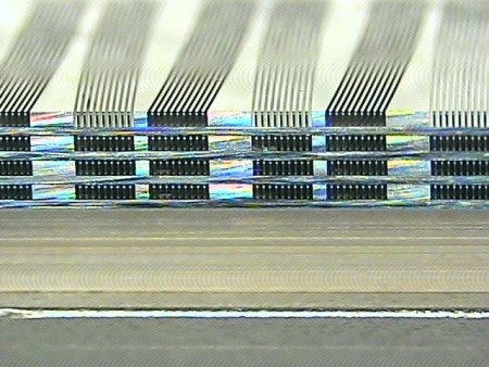 Figure 10. Actual 4-plate EA stack hybridized with the ARC FC150